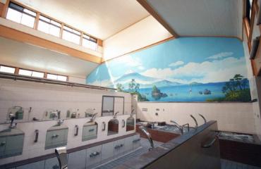 中延温泉松の湯の内観画像