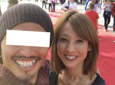 花田美恵子とX氏がデートする画像