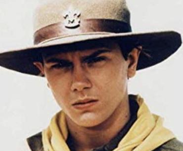 リバーフェニックスのインディージョーンズ出演時の画像