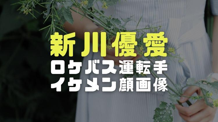 新川優愛の旦那|ロケバス運転手と結婚した理由と馴れ初め|イケメン夫の顔画像