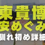 東貴博と安めぐみの画像