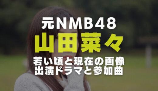 山田菜々の経歴や若い頃と現在の画像比較|出演ドラマやテレビ番組とNMB48時代の参加主要曲一覧
